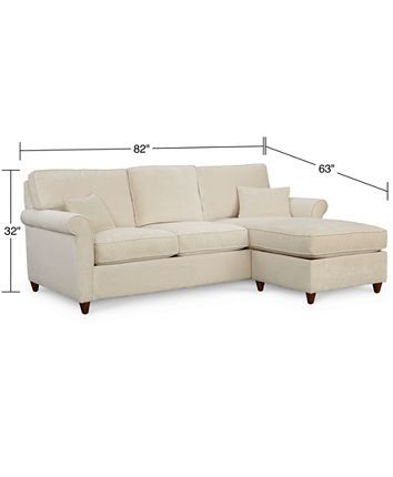 Fabulous Lidia 82 Fabric 2 Pc Chaise Sectional Queen Sleeper Sofa Ibusinesslaw Wood Chair Design Ideas Ibusinesslaworg