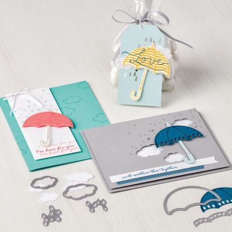 Weather Together Stampin Up Bundle VIDEO WITH COOL TIPS (FOR POPPED UP CLOUDS)