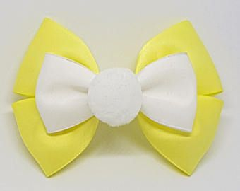 Rabbit Inspired Hair Bow Winnie The Pooh Inspired Hair Bow