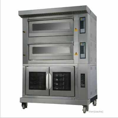 Commercial Gas Electric Oven 4 Trays Oven 10 Trays Ferment Tank Multi Function Ebay Gas And Electric Electric Oven Locker Storage