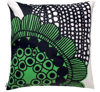 Cuscini Marimekko.Cushion Siirtolapuutarha By Marimekko White Green Made In