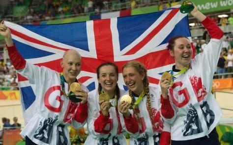 Rio Olympics 2016: Laura Trott leads Team GB to gold in team pursuit; Callum…