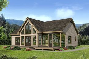 Pin By Maggie On Houses In 2019 2 Bed House House Plans Country House Plans