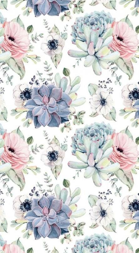 Flowers Pattern Background Beautiful 19 Ideas For 2019 Flowers Flower Wallpaper Iphone Wallpaper Vintage New Wallpaper Iphone