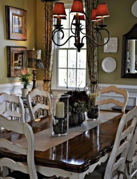 Amazing French Country Dining Room Table Decor Ideas 10 Dining