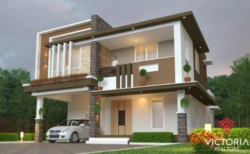 Modern Bungalow House With 3d Floor Plans And Firewall Amazing Architecture Magazine Single Storey House Plans House Elevation Small House Design Plans