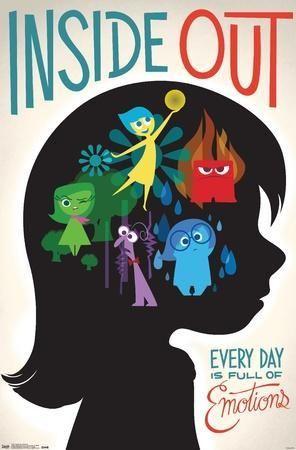 'Disney Pixar Inside Out - Emotions' Poster    AllPosters.com
