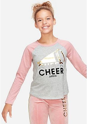 Cute Shirts Blouses Tops Tees For Tween Girls Justice Justice Clothing Girls Fashion Tops Girls Sports Clothes