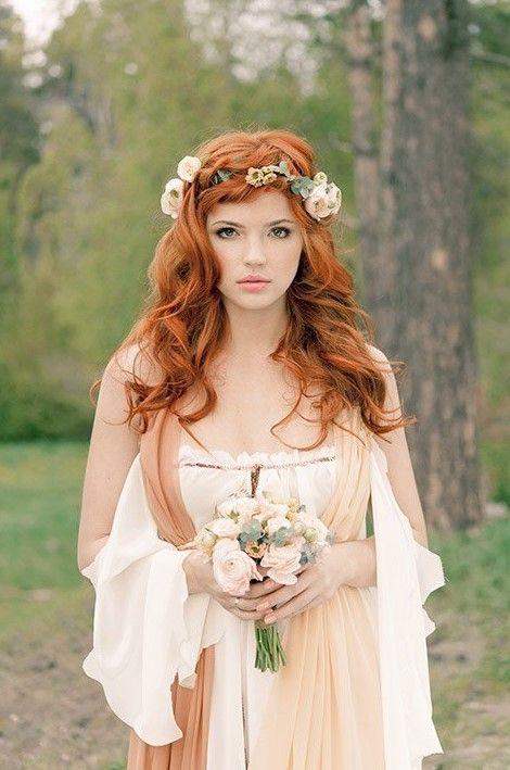 Brautfrisuren Fur Rote Haare 2019 Brautfrisur Rote Haare Schone Rote Haare