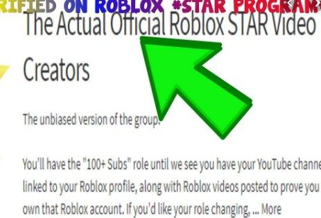 Roblox Youtube Star Program