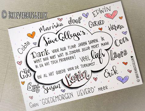12 Beste Ideeen Over Afscheids Kaart Afscheids Kaart Kaart Maken Afscheid Collega Teksten