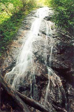 Rufus Morgan Falls near Franklin, NC