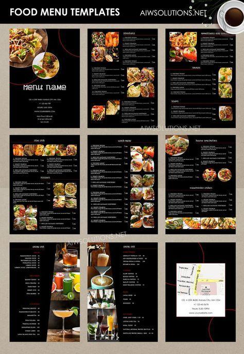 Food Menu Id26 Food Menu Template Pizza Menu Design Cafe