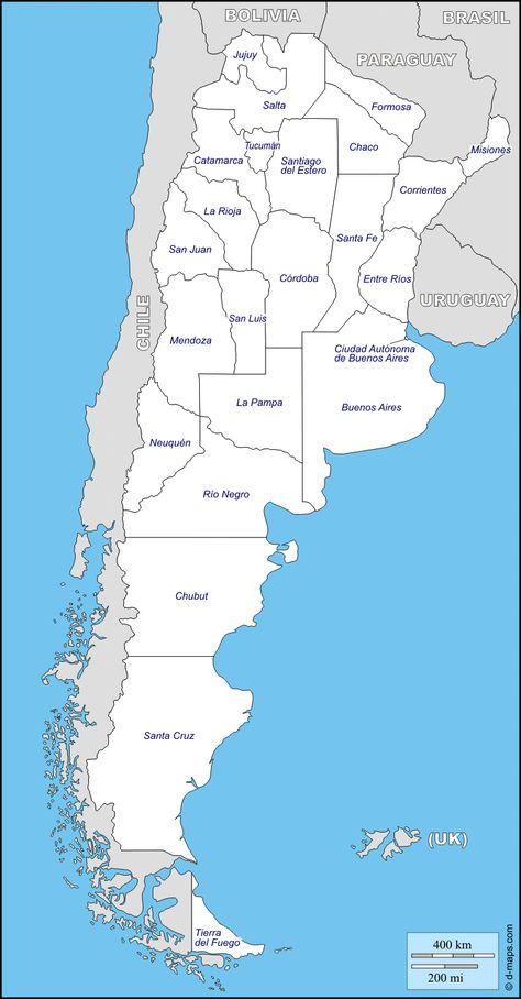 Mapa De Argentina Provincias.Pin En Mapas Comerciales
