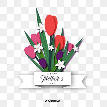 Pink Mothers Day Floral Elements Hand Painted Minimalist Plants Mothers Day Lily Hand Painted Flowers Png Transparent Clipart Image And Psd File For Free Dow Pink Floral Background Flower Painting Hand