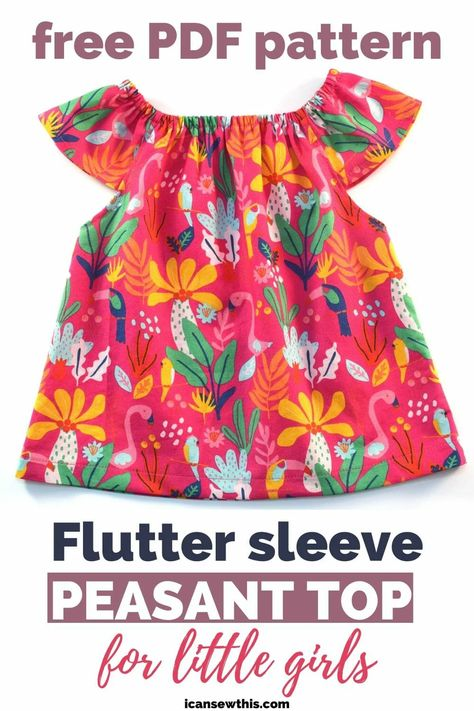 Peasant Dress Patterns, Baby Girl Dress Patterns, Baby Clothes Patterns, Clothing Patterns, Baby Dress Pattern Free, Sewing Patterns Girls, Pattern Sewing, Vogue Patterns, Vintage Patterns