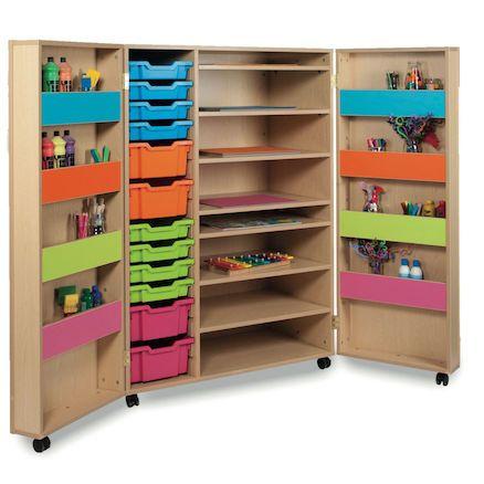 Best craft room storage and organization furniture ideas 47