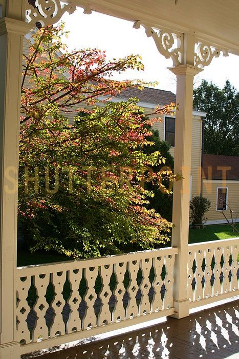Grim S House Victorian Porch Porch Trim Vintage Porch