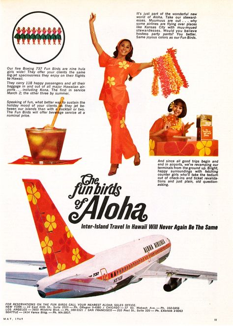 Stewardesses In Hostess Party Pants Helped Put The Fun In Aloha