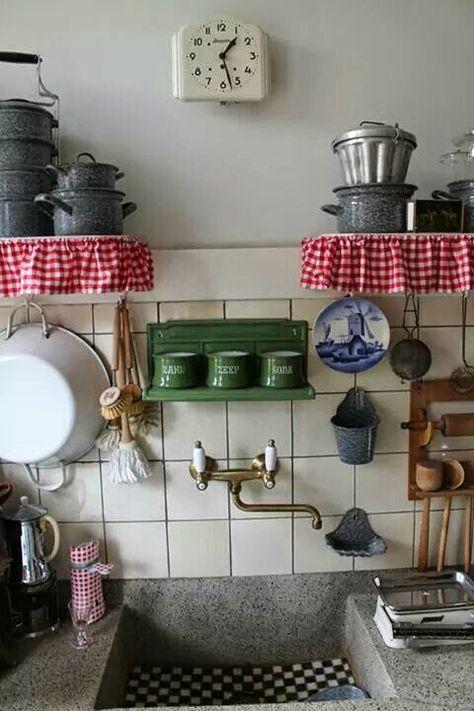 Keuken 50er jaren huis