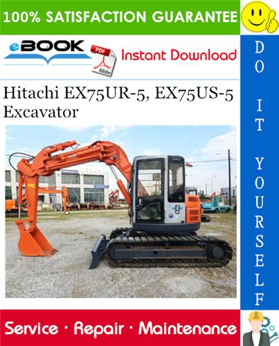 Hitachi Ex75ur 5 Ex75us 5 Excavator Service Repair Manual Circuit Diagram Harness Hitachi Electrical Circuit Diagram Circuit
