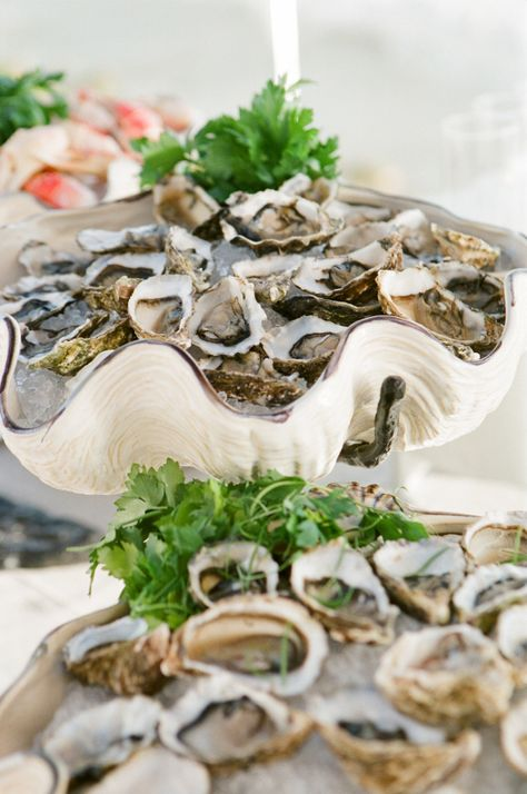 Raw Oyster Bar...Try with Penn Cove Shellfish Kusshi Oysters