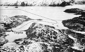 "Tirpitz - Operation ""Source"" using midget submarines x-craft (x-5, x-6, x-7, x-8, x-9, x-10). Destroyed midget submarine x-7 is on display at the Imperial War Museum, which made me curious as to how it came to be destroyed. The mission is explained here."