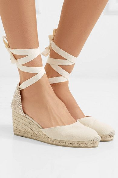 f4aa4217867 Castañer - Carina 60 canvas wedge espadrilles in 2019 | gal meets ...