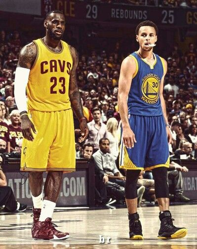 Lebron James and Stephen Curry (Golden State