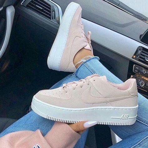 pink #babypink #lightpink #magenta #beige #shoes #sneakers