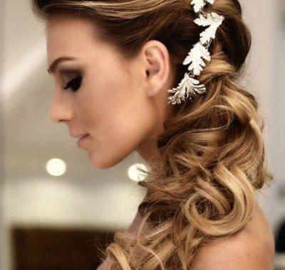 Wedding Hairstyles For Long Hair No Veil