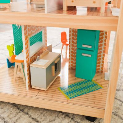 Details About So Stylish Mansion Dollhouse With Furniture 42