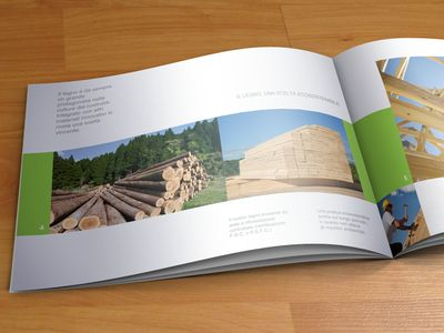 A4 Landscape Brochure | Brochures, Landscaping And Corporate Brochure