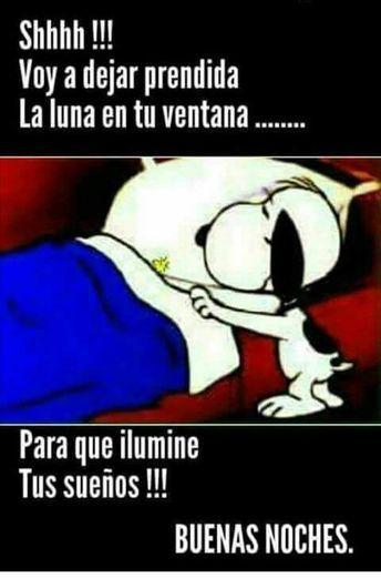 Carla Portilla Tatiratis Pinterest Account Analytics Snoopy Quotes Good Night In Spanish Good Night Greetings