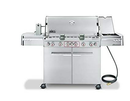 Weber 2880301 Summit S 670 Natural Gas Tuck Away Rotisserie Grill Stainless Steel Review Gas Grill Best Gas Grills Natural Gas Grill