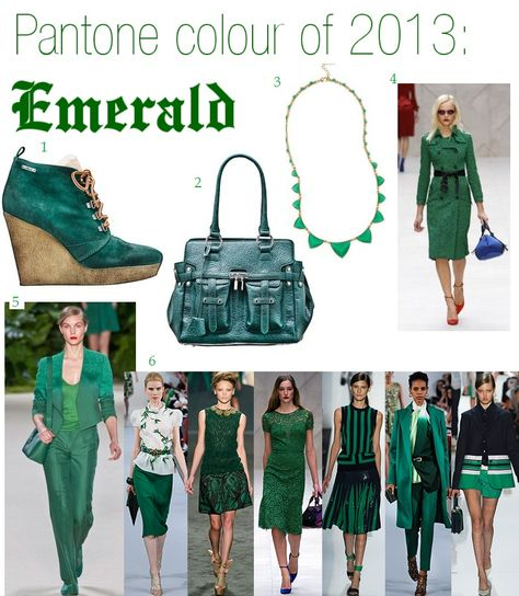 Emerald - we are going green again'13