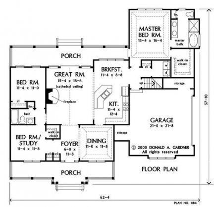 47 Best Ideas House Plans 4 Bedroom 1700 Sq Ft Country Style House Plans House Plans Best House Plans