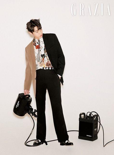 Atualização do site SM Lounge com Doyoung para