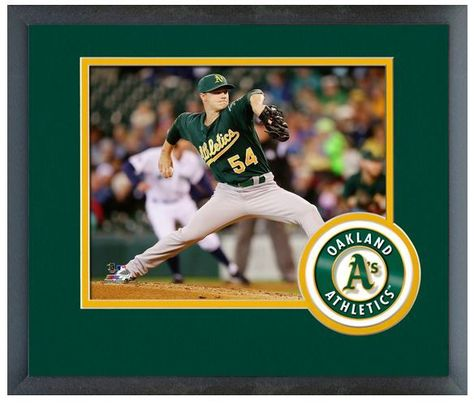 "Sonny Gray 2013 Oakland A's -11"" x14"" Matted and Framed Photo"