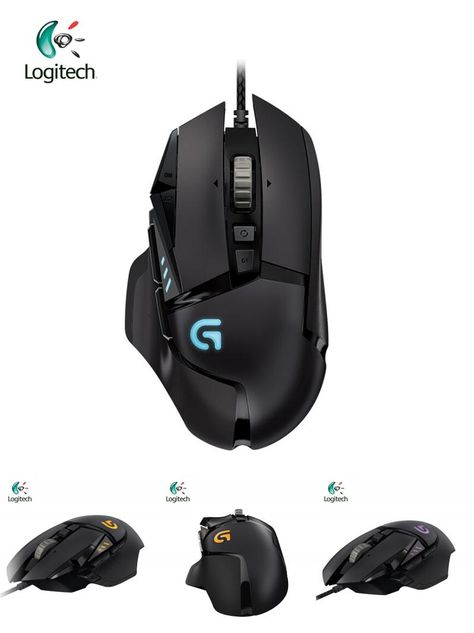 Visit To Buy Logitech G502 Proteus Rgb Wired Gaming Mouse With Optical 12000dpi For Laptop Pc Ergonomic Mice Support Offi Gaming Mice Logitech Logitech Mouse