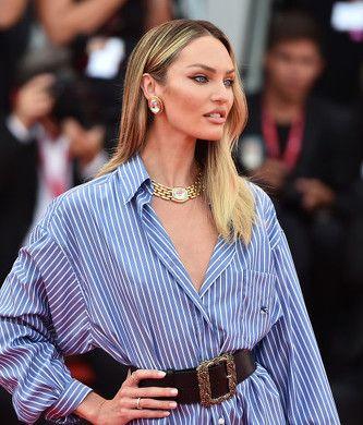 Copia El Look De Candice Swanepoel En El Festival De Cine De Venecia Con Imágenes Candice Swanepoel Moda Estilo Swanepoel