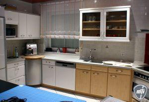 Küche folieren braun in weiß montage Folierung | Möbel ...