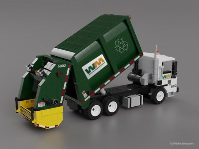 Picture 2 Of 4 Garbage Truck Lego Rubbish Truck
