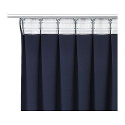 WERNA Block-out curtains, 1 pair - IKEA would need in a different color