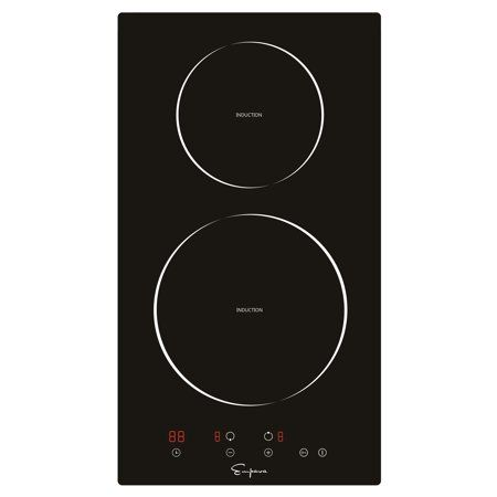 Empava 12a Electric Stove Top Induction Cooktop Vitro Ceramic Glass With 2 Burners Smooth Surface Black Empv Idc Induction Cooktop Electric Cooktop Induction