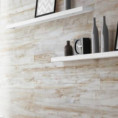 Peel And Stick Vinyl Wall Paneling In White In 2020