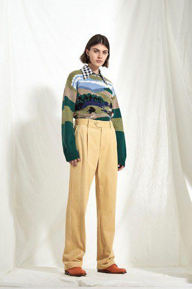 JOSEPH Fashion, Pre-Spring Summer 2018 Collection, Look 03 // Creative Director: Louise Trotter. Styling: Jane How. Models: Milena Litvinovskaya and Leila Zandonai //