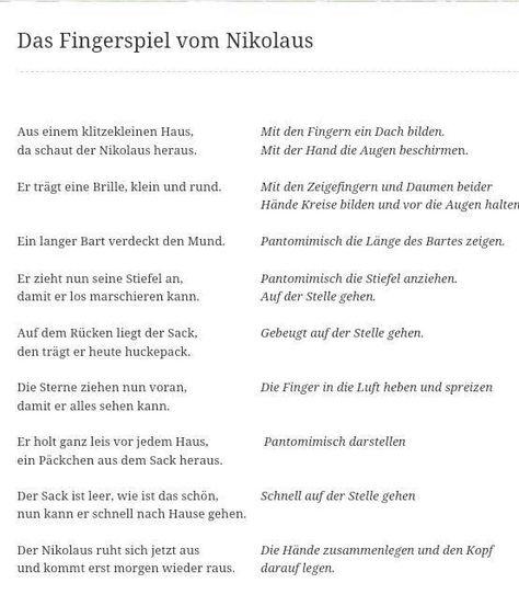 107 best Fingerspiel, Lieder images on Pinterest | Kindergarten ...