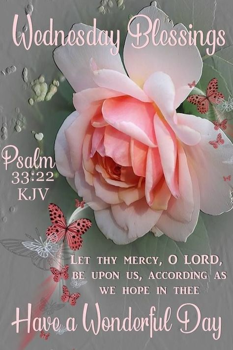 Wednesday Blessings: Let thy mercy, O Lord, be upon us, according as we hope in thee. Have a wonderful day! #Wednesdayblessings #Wednesdaymorningblessing #Blessedwednesdayquotes #Blessedquotes #Blessingquotes #Morningblessingquotes #Everydayblessingquotes #Wednesdaymorningwishes #Morningwishesquotes #Goodmorningwish #Beautifulmorningwishes #Wednesdayquotes #Wednesdaymorningquotes #Wednesdaysayings #Positiveenergy #Inspirationalmorningquotes #Inspirationalquotes #Dailyquotes #Everydayquotes