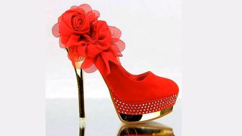 reasonable price most popular best quality Awesome Red High Heel Shoes & Pumps Boots for Girls and ...